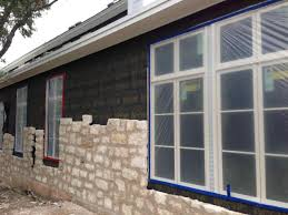 install stone siding installation stone veneers over old brick fireplace diy you real stoneeer artificial installation