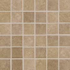 american olean weddington russet uniform squares mosaic ceramic floor and wall tile common 12
