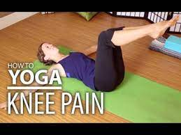 yoga for knee pain yoga for post knee