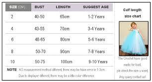 Tutu Dress Size Chart New Summer Style Flower Girl Dress White And Lavender Flower
