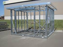 metal framing shed. Brilliant Framing Yardpod  Prefab Frame On Metal Framing Shed Pinterest