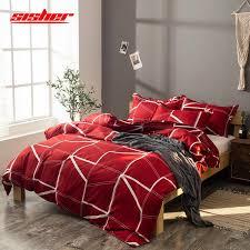 sisher solid color bedding sets