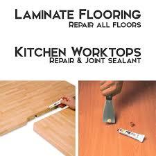laminate wood flooring kitchen worktop repair sealant all colours new