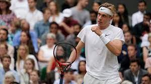 Novak Djokovic in Wimbledon semifinal