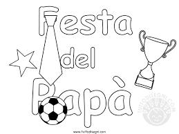 Disegni Per La Festa Del Papà Da Colorare Tuttodisegnicom