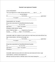 Template Lease Lease Agreement Template Word Template Business