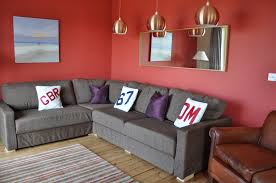 Red And Grey Decorating Living Room Beautiful Gray Decorating Ideas With Amazing Red Gold