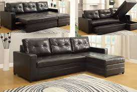 sofa delightful leather sectional sofa bed 20 engaging chaise 14 with bonded black arizona
