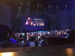 Michael Jackson One By Cirque Du Soleil Wonderful Seat