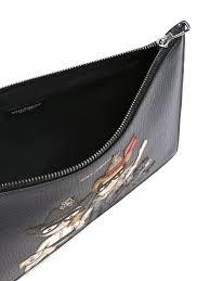 Designer Clutch Bag Outlet Dolce Gabbana Designers Patch Clutch Men Bags D G Shoes
