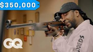 2 Chainz Checks Out a $350K Gun | <b>Most</b> Expensivest <b>Shit</b> | GQ ...