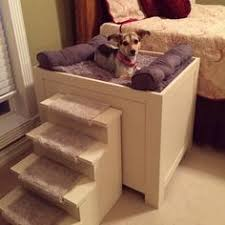 raised dog bed nightstand Google Search …