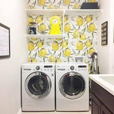 Laundry Room Wallpaper Designs Lemon Wallpaper Laundry Room Wallpaper Laundry Room