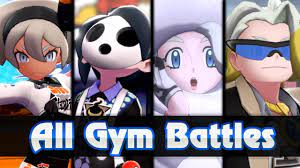 Pokemon Sword & Shield - ALL Gym Leader Battles (+VERSION EXCLUSIVE GYMS) -  YouTube