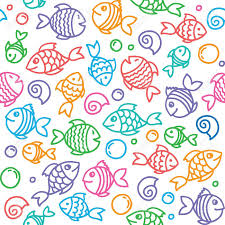 Fish Pattern Awesome Fish Pattern Royalty Free Cliparts Vectors And Stock Illustration