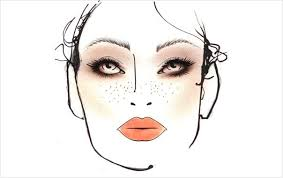 Mac Face Chart Beauty Makeup Face Charts Mac Face