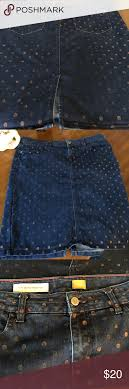 Pilcro And The Letterpress Skirt Size 31