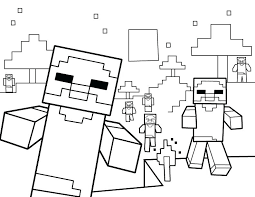 Coloring Pages Of Minecraft Free Creeper Coloring Pages Printable
