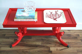 ikea red gloss coffee table lack side table high gloss white