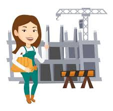 Architect And Vector Royalty 2 Female Free Cliparts 072 Stock Illustrations