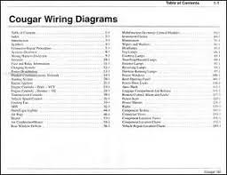 mercury cougar radio wiring diagram  99 cougar stereo wiring diagram 99 auto wiring diagram schematic on 2001 mercury cougar radio wiring