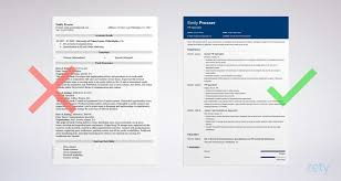 Good Resumes Templates Inspiration Google Docs Resume Templates 48 Examples To Download Use Now