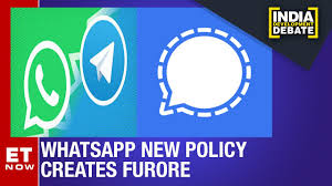 WhatsApp Vs Signal Vs Telegram: Which Messaging App Gives Most Privacy?    India Development Debate - YouTube