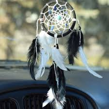 Dream Catchers For Your Car White Pearl Car Dream Catcher Car Decor from DenDreamCatchers 26