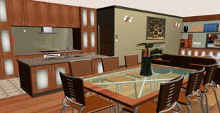 Cool Kitchen Design Software With Glass Square Table On Free Mac