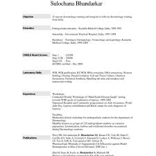 Free Resume Templates Examples Free Template Resume Microsoft Word Sample Outline For Apa Resume 16