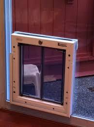 locking dog doors in classic sureflap microchip pet door flap open 1
