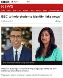 ' Its Bbc 2017 Watch News News Report Own Excludes 'fake On wqYgq6