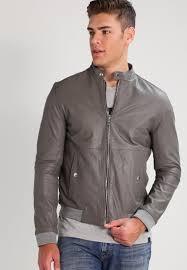 calvin klein jeans morz moto leather jacket grey men clothing jackets calvin klein black bralette set free