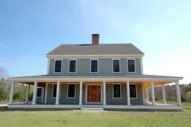 facade wrap around porch