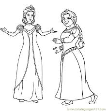 Small Picture Shrek Coloring Page 11 Coloring Page Free Sakura Coloring Pages