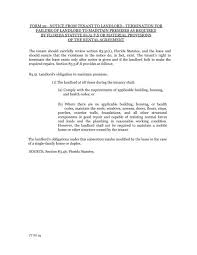 Lease Violations Form 59 Notice From Tenant To Landlord