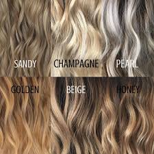 Different Hair Colours