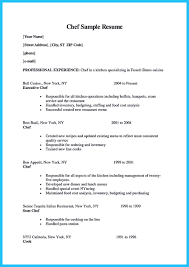 Best Ideas Of Culinary Resume Objective Cook Resume Objective
