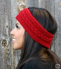 Knit Ear Warmer Pattern Cool 48 Easy Loom Knit Headband Patterns Sizzle Stich