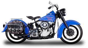 orange county choppers occ classic blue bagger orange