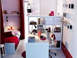 small furniture for small spaces. the unforeseen bedroom and home office in red white storage ideas for small spaces room divider shelves furniture r