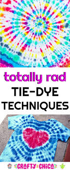 Pretty Tie Dye Designs Tie Dye Techniques To Try The Crafty Chica