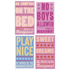 bedroom rules. bedroom rules l