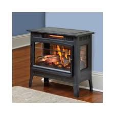 vent free gas fireplace duraflame dfi 5010 01 infrared quartz fireplace stove with 3d flame effect black