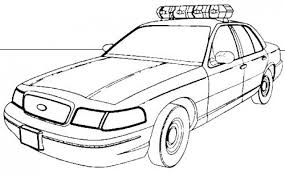 Police Car Coloring Page Police Truck Coloring Page Free Printable