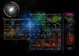 Star Trek Galaxy Chart Mapping Star Trek The Map Room