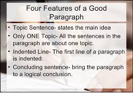 essay basic writing 3 four features