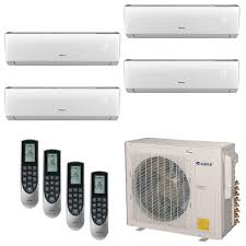 split air conditioning system. multi-21 zone 30,000 btu 2.5 ton ductless mini split air conditioner conditioning system