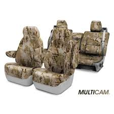 coverking multicam camo custom seat covers