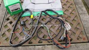 new cloth bound lucas wiring harness bsa c15 b40 distributor image is loading new cloth bound lucas wiring harness bsa c15